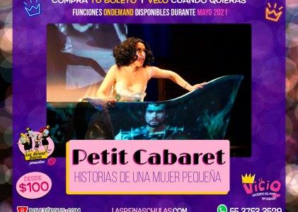 Petit Cabaret: Historias de una mujer pequeña