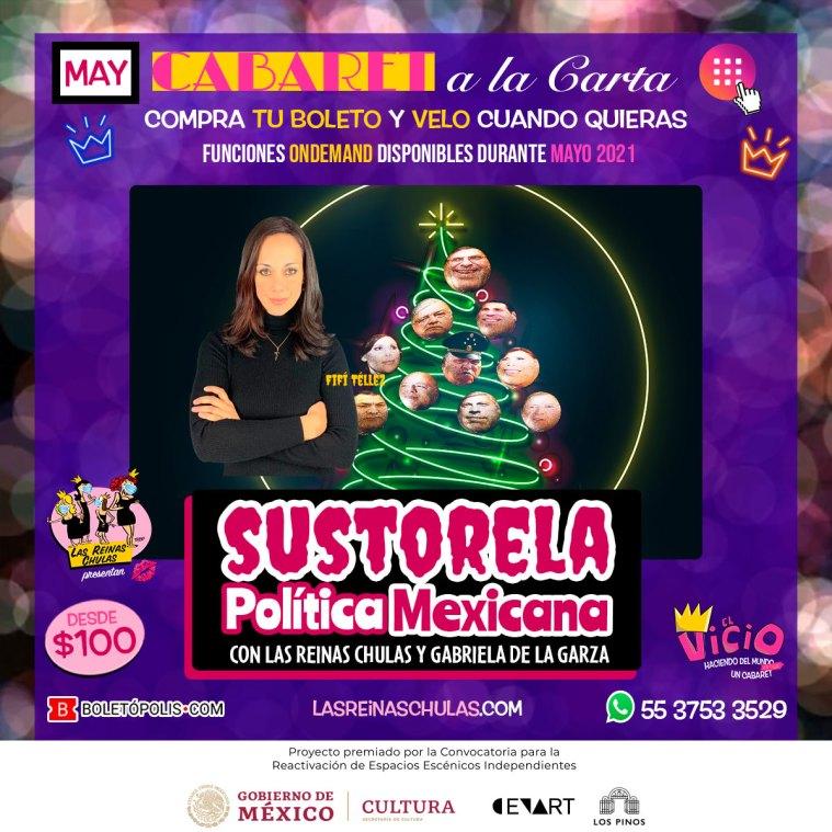 Sustorela Política Mexicana, Cabaret a la Carta, Mayo 2021