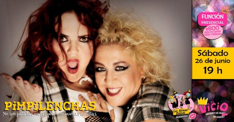 Evento en Facebook: Pimpilenchas en concierto en Teatro Bar El Vicio