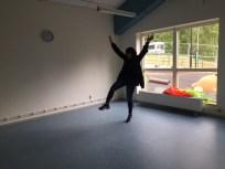 Alvägens förskola är alldeles nyöppnad och har ett stort tomt rum avsatt för förskolebiblioteket