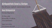 Kirkpatrick Seal & Stripe