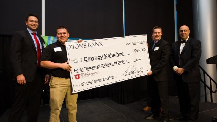U student startup, Cowboy Kolaches, wins UEC 2014.