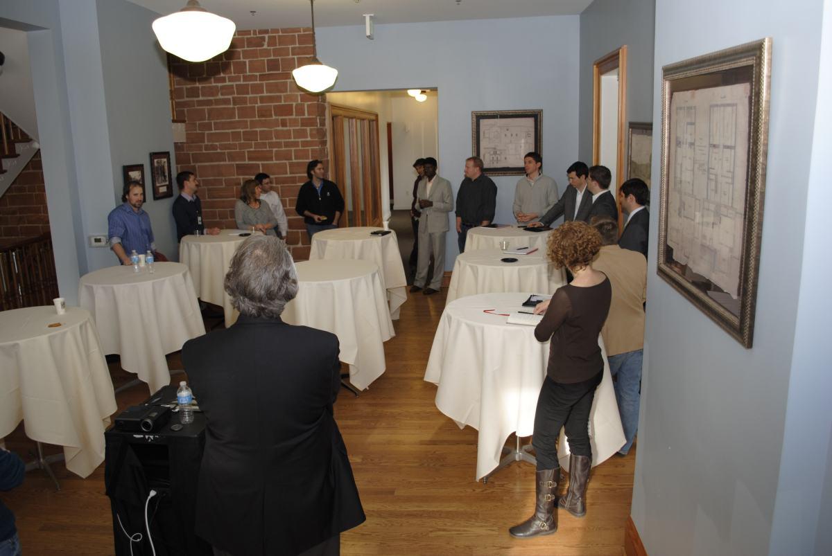 Lassonde Studios planning meeting.