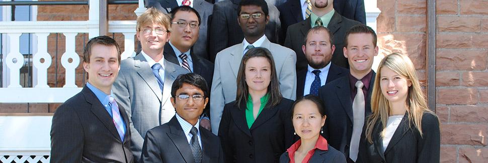 Lassonde graduate students of New Venture Development Center