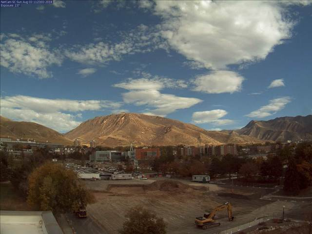 Lassonde Studios live webcam gives updates on construction.