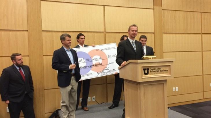 U student invention, Light Line Catheter, wins U's Opportunity Quest.