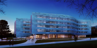 Digital rendering of Lassonde Studios, Opening Fall 2016.
