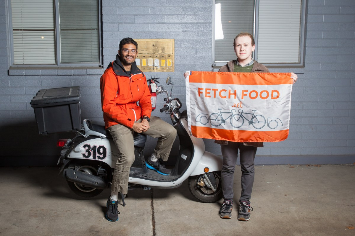 U student startup, Fetch Food. Winners of Opportunity Quest 2013.