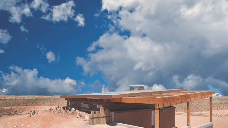 Students from the U Architecture department design and build sustainable houses in Bluff, Utah.