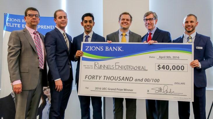 2016 Utah Entrepreneur Challenge Winner Through the Cords, LLC