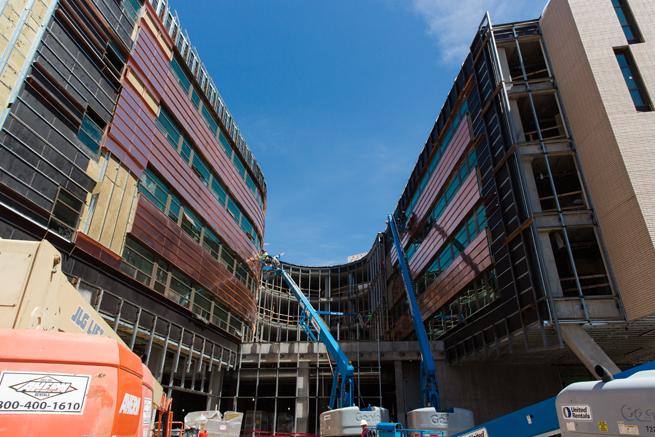 Lassonde Studios construction site