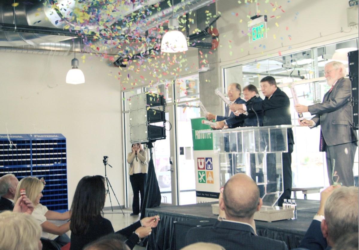 Lassonde Studios Building Dedication