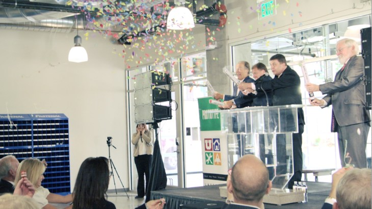 Lassonde Studios Building Dedication