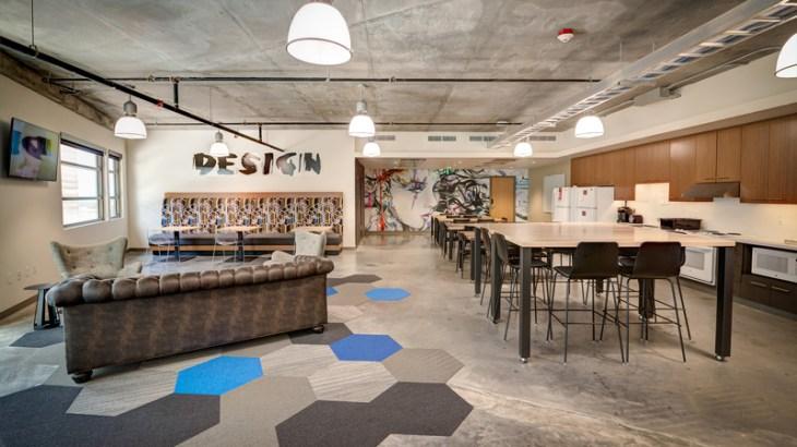 Lassonde Studios Design Floor