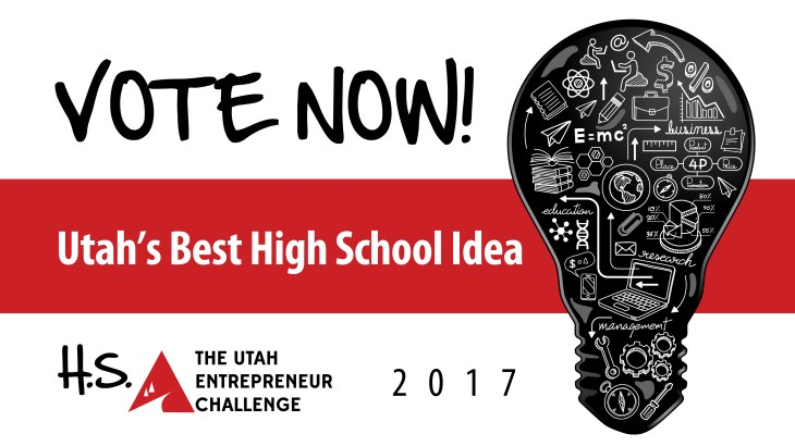 High School Utah Entrepreneur Challenge 2017 - Online Video Voting