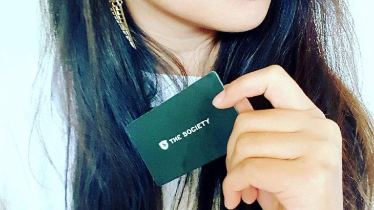 The Society Nightlife Card
