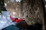 Frankenjura boulder Dweed 7b Krottenseer Forst