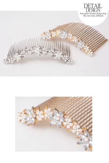 CMU30 Z Gool Wedding Hair Accessories UP COMB COMB