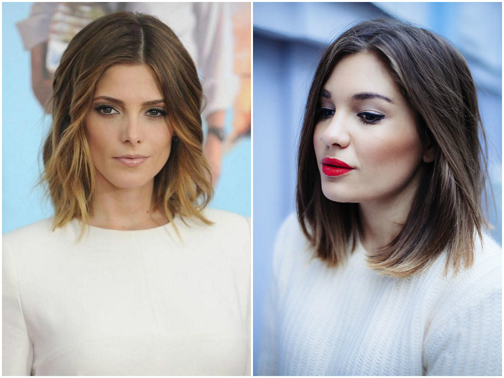 Shoulder length haircuts for women 2017 For fine curly