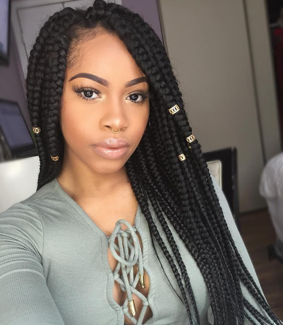 Black Braided Hairstyles 2018 Big Small African 2 And