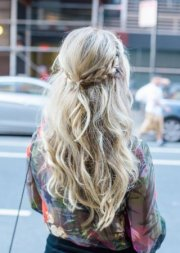 cute boho hairstyles short