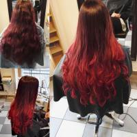 Red Ombre Hair Color | 36 New Stunning Ideas