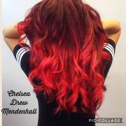 red ombre hair color 36 stunning