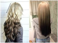 48 Looks with Reverse Ombre Hair Color | Pictures 2018