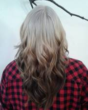 with reverse ombre hair