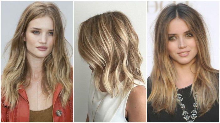 Мелирование на русые волосы прямые. Мелирование на светлые волосы разными способами