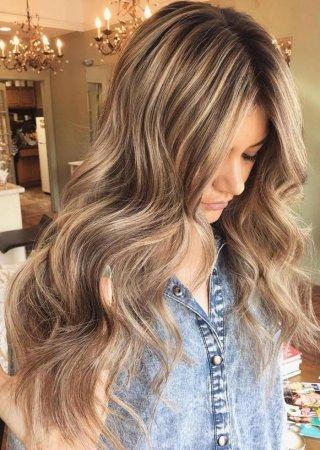 Highlight Hair In A Year Fashionable Highlighting Of Hair