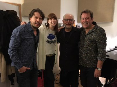 So great to see old friends again! Nick and Leonid Steve Kershaw