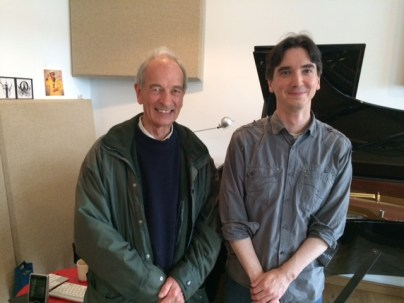 Neil Watson with Gareth Knox