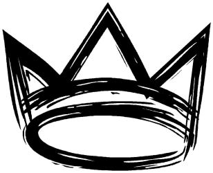 crown drawing clipart kings background king crowns hop hip lamar kendrick logos west queen kanye word clip type illustration symbol
