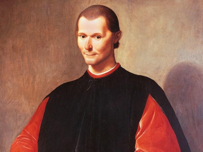 Portrait of Niccolo' Machiavelli