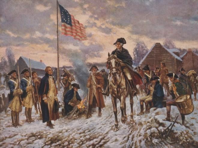 Image of Washington at Valley Forge