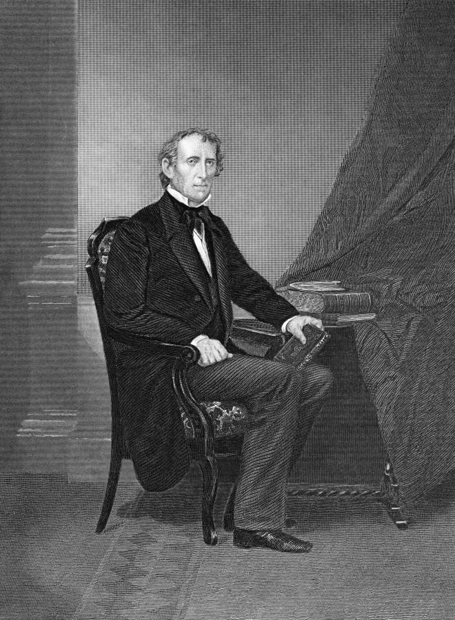 Portrait of John Tyler