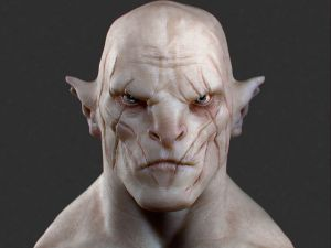 Snoke and Azog, seperated at birth?