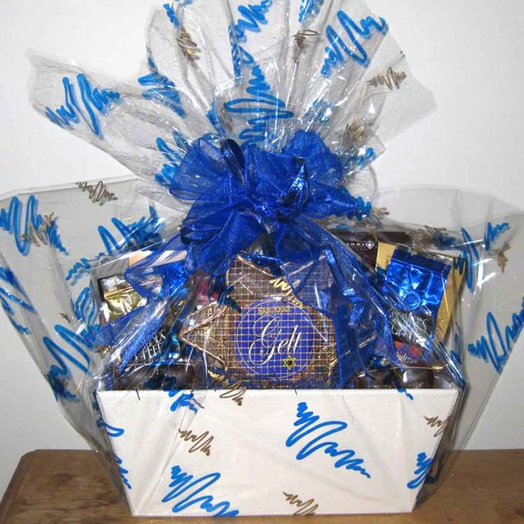 Chanukah Gelt kosher gift basket