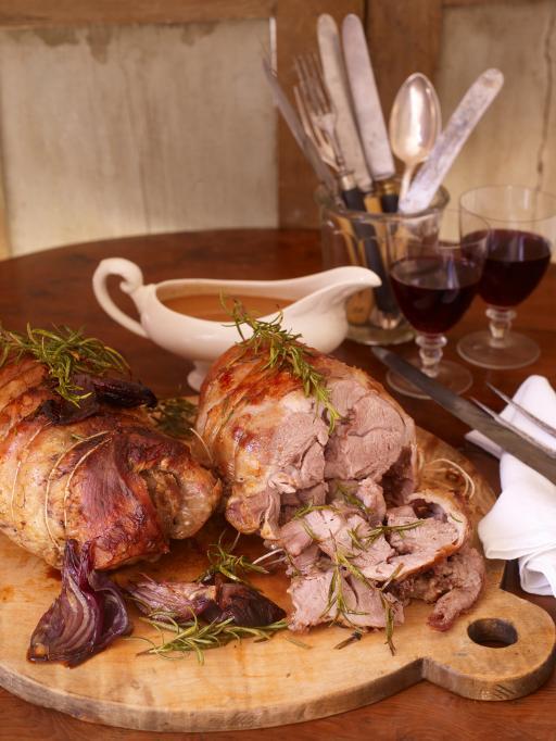 Dinner Lamb Finland Easter