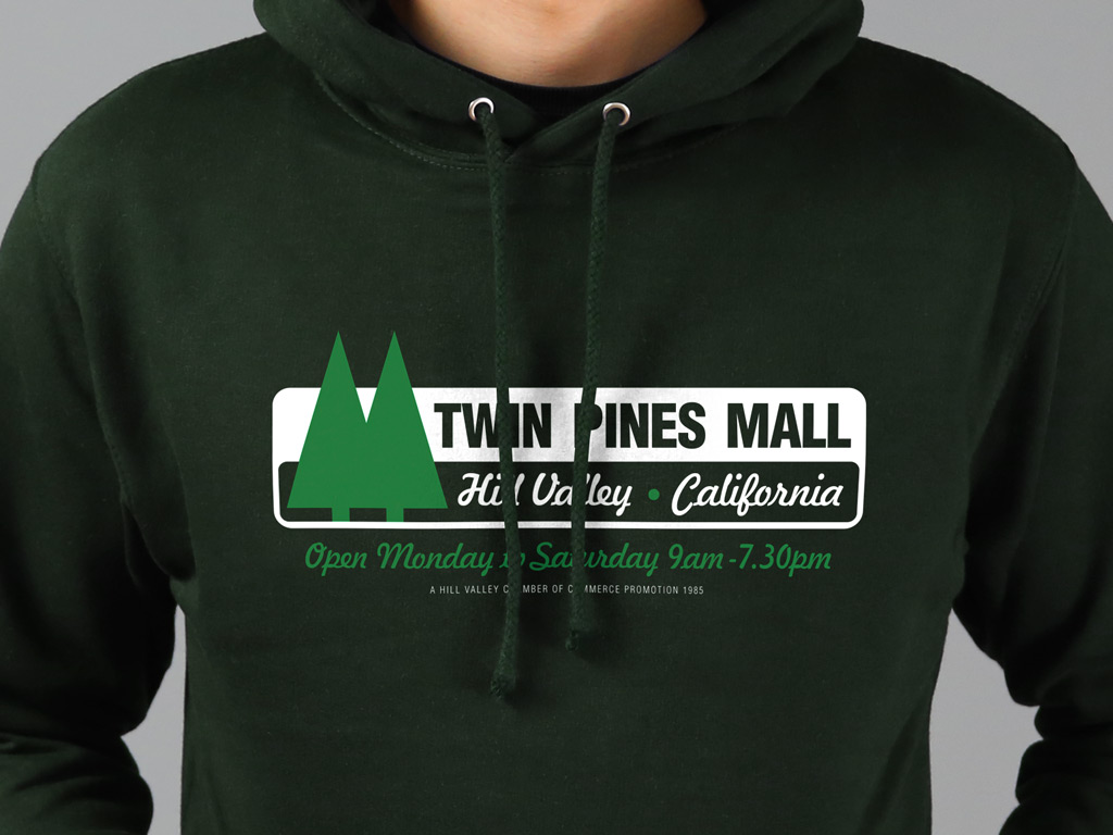 twin pines mall hooded
