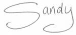 Sandy-signature