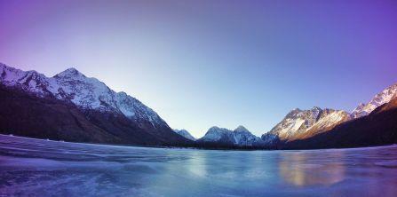 A beautiful Eklutna Lake scene captured by lifetime adventures!