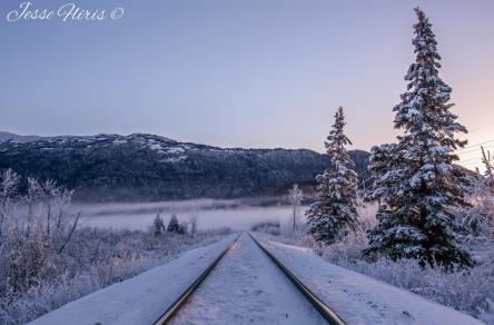 Photography By Jesse Fliris captured this beautiful scene near Knik River Bridge!