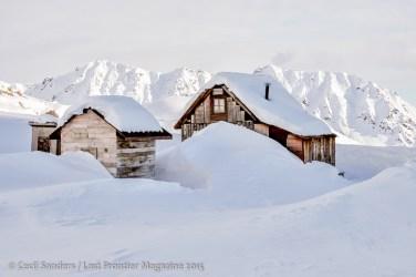 High Grade cabin in February.