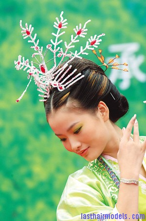Traditional Chinese Hairstyle Last Hair Models Hair Styles