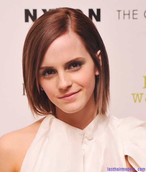 Emma Watson's Layered Razorcut Short And Stylish! Last Hair
