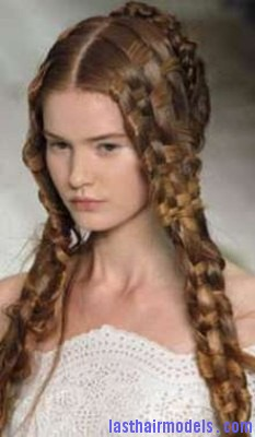 Medieval Braid Last Hair Models Hair Styles Last Hair Models