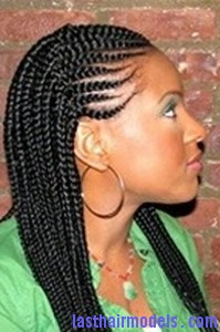 Hairstyle With Synthetic Cornrows Last Hair Models