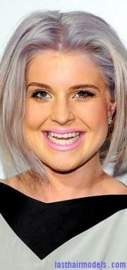 bright gray hair models